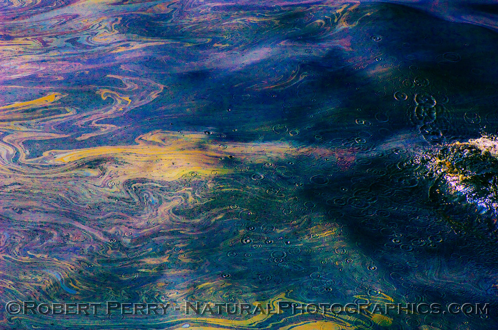 Dark blue with swirls and ripples - 2008