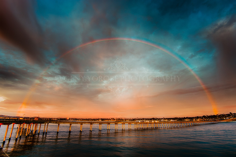 Rainbow Over the OB Pier