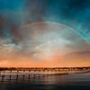 Rainbow Over the OB Pier