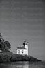 Moonrise over Lime Kiln Lighthouse