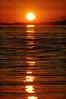Sunset over Haro Straight