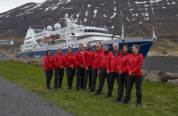 Ocean Diamond Iceland Pro Cruises Expedition Team
