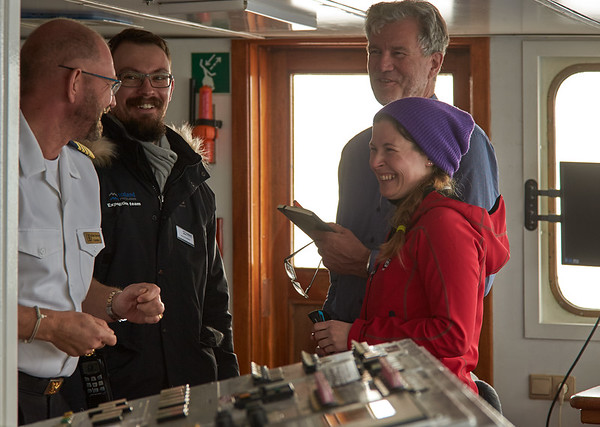 Ocean Diamond Iceland Pro Cruises Bridge