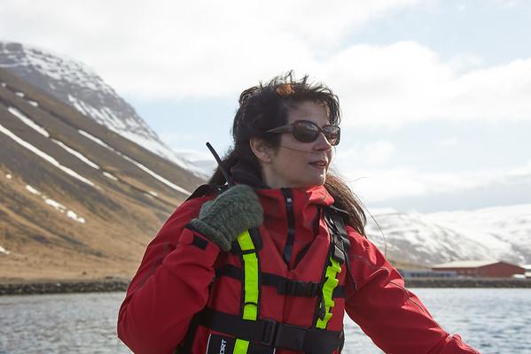 Ocean Diamond Iceland Pro Cruises Isafjödur Zodiac Arndis Halla Ásgiersdóttir