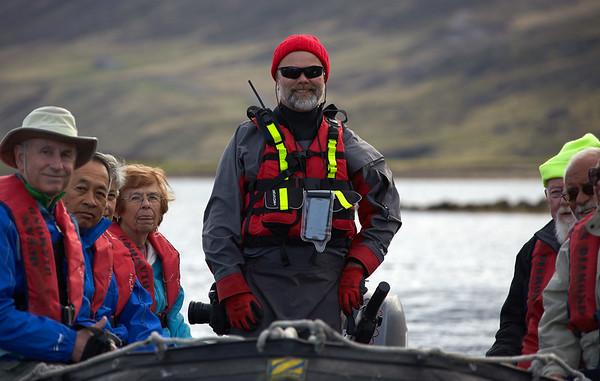 Ocean Diamond Iceland Pro Cruises Expeditionsteam  Pétur Gauti Valgiersson  Zodiac RIB