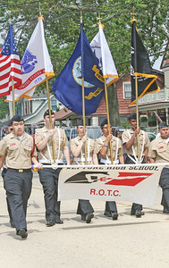 Neptune High School's ROTC. Fourth of July/150th anniversary parade in Ocean Grove, NJ on 7/6/19. [DANIELLA HEMINGHAUS | THE COAST STAR]