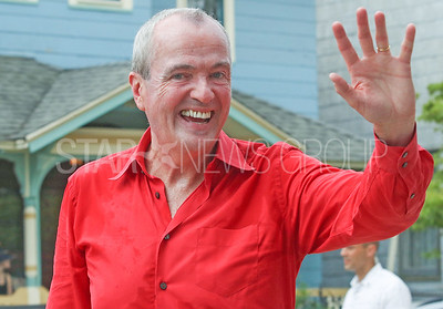Gov. Phil Murphy Fourth of July/150th anniversary parade in Ocean Grove, NJ on 7/6/19. [DANIELLA HEMINGHAUS | THE COAST STAR]