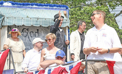 Ocean Grove Board of Trustees float. Fourth of July/150th anniversary parade in Ocean Grove, NJ on 7/6/19. [DANIELLA HEMINGHAUS | THE COAST STAR]