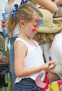Hazel Heaney, from Ocean Grove. Fourth of July/150th anniversary parade in Ocean Grove, NJ on 7/6/19. [DANIELLA HEMINGHAUS | THE COAST STAR]