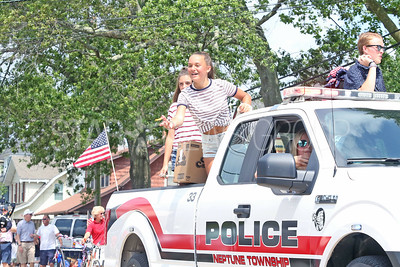 Fourth of July/150th anniversary parade in Ocean Grove, NJ on 7/6/19. [DANIELLA HEMINGHAUS | THE COAST STAR]