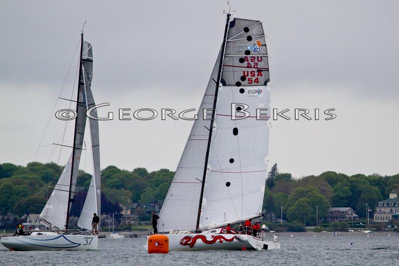 Atlantic Cup In Shore Race 2011<br /> Dragon