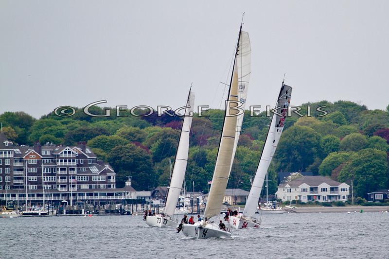 Atlantic Cup In Shore Race 2011 <br /> Dragon <br /> Icarus <br /> Toothface