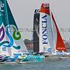 Musandam - Oman Sail Foncia - KRYS Ocean Race 2012 Start