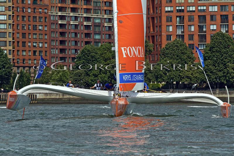 Foncia - KRYS Ocean Race 2012 Start