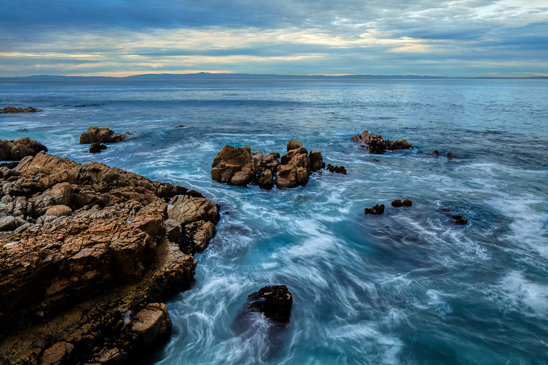 Pacific Grove Swirling Ocean