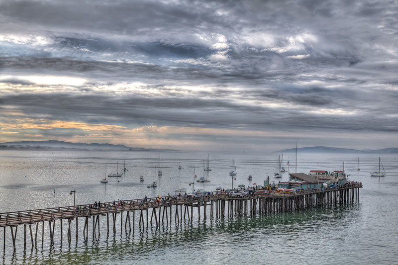 Morning at the Capitola Pier 1