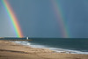 Rainbow Over Lighthouse 2