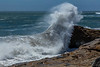 Wave Crashing on West Cliff Drive