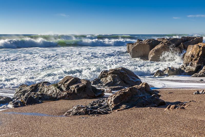 Pebble Beach Waves 1