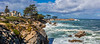 Pacific Grove Shoreline Panorama