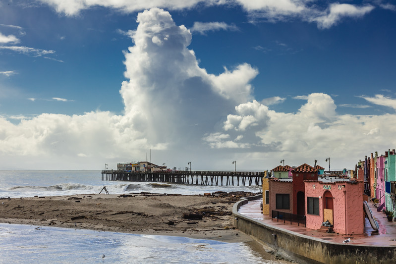 After the Storm at Capitola Beach 1