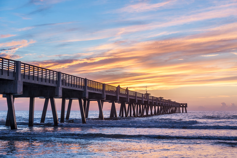 Jacksonville Beach Sunrise.