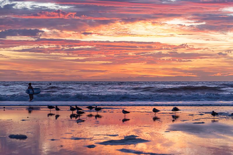 Jacksonville Beach Dawn Patrol.