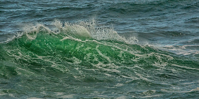 Wave Art in the morning