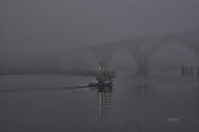 Foggy Exit