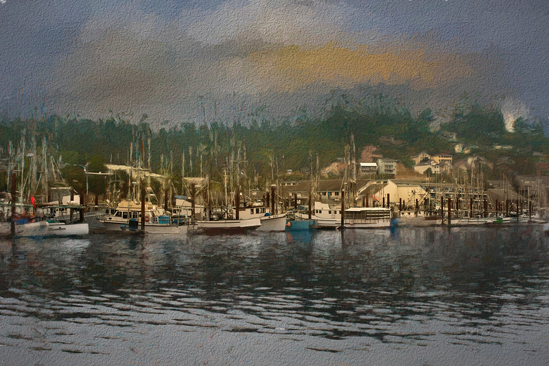 Bayside in paint