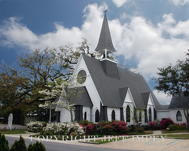 St John's Episcopal Church, Ocean Springs, MS.