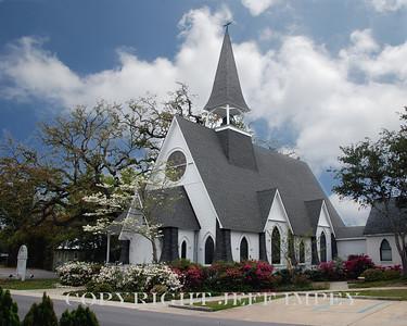 St John's Episcopal Church, Ocean Springs, MS.