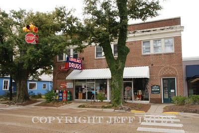 Lovelace Drugstore in down town Ocean Springs, MS.