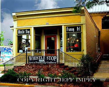 Old Whistle Stop Framing Gallery in Ocean Springs, Mississippi