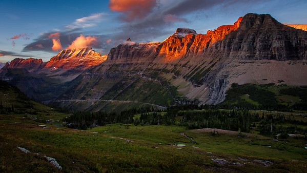 Glacier National Park Sunset