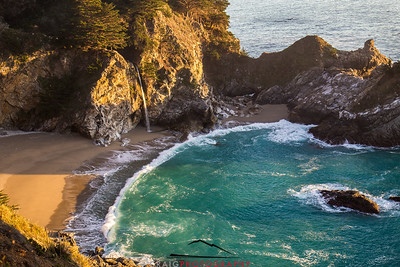 McWay Falls and the Pacific Ocean #6
