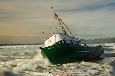 Salmon Creek Shipwreck  #8