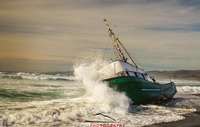 Salmon Creek Shipwreck  #9