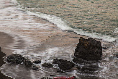 Sonoma Coast evening waves