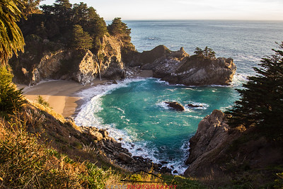 McWay Falls and the Pacific Ocean #7