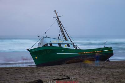 Salmon Creek Shipwreck  #4