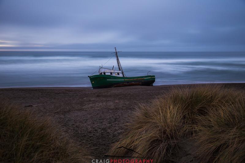 Salmon Creek Shipwreck  #6