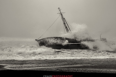 Salmon Creek Shipwreck  #13