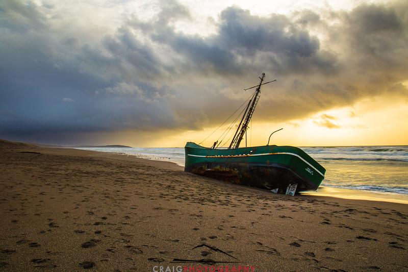 Salmon Creek Shipwreck  #17