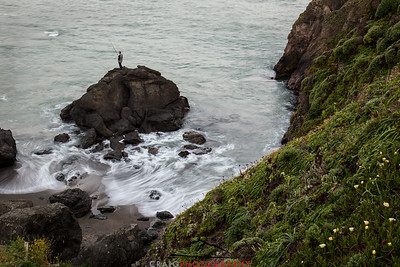 Sonoma Coast fisherman