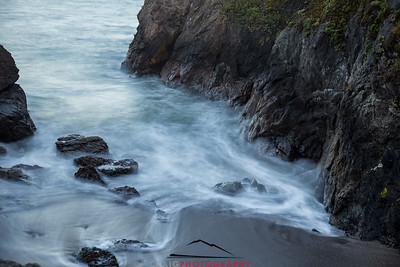 Sonoma Coast evening waves 2