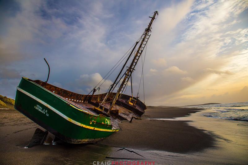 Salmon Creek Shipwreck  #18