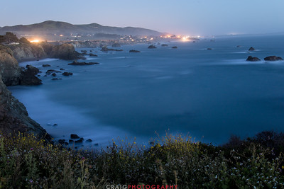 Sonoma Coast lights