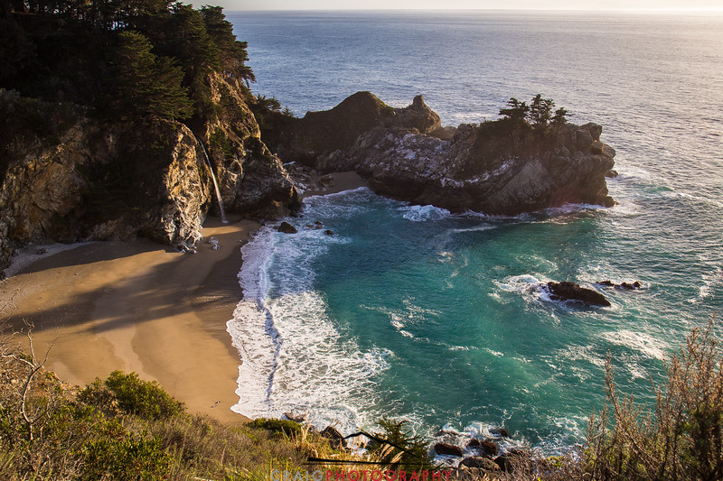 McWay Falls and the Pacific Ocean #8