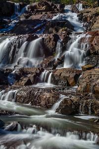 Lower Glen Alpine Falls with Silky Water